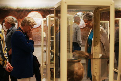 Opening tentoonstelling over archeologie